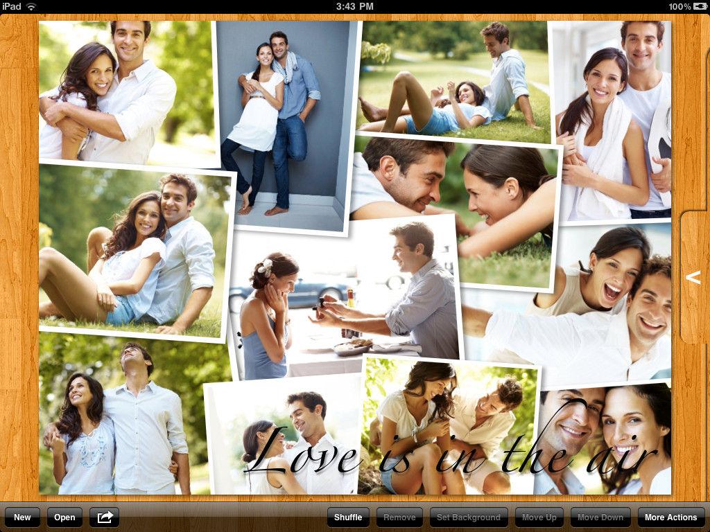 Как можно сделать много фоток в одну