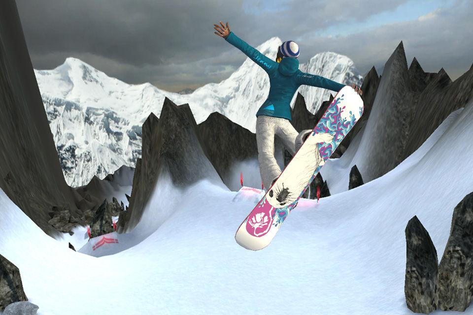 Amped snowboarding games online