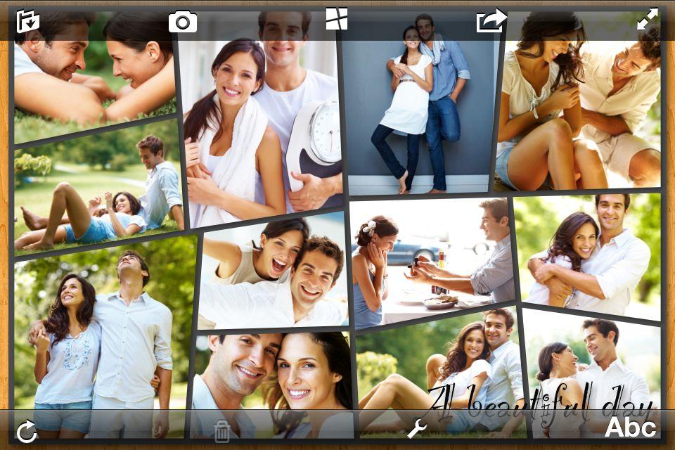 Как сделать одно фото из нескольких в контакте