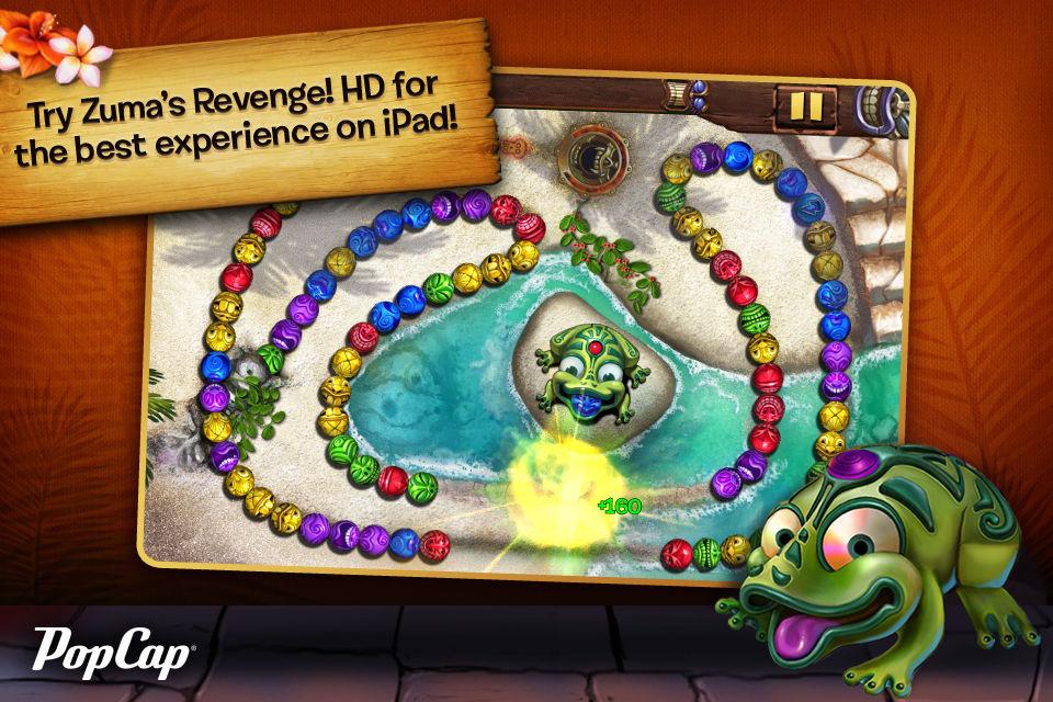 Zuma game popcap free online