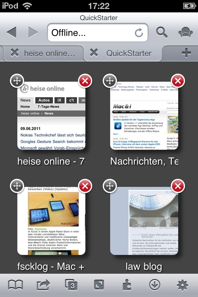 Icab mobile is a web browser for the ios