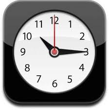 iOS Clock App icon
