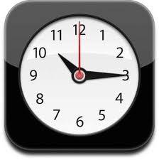 iOS Clock App icon