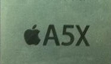 A5X iPad 3 dual-core chip