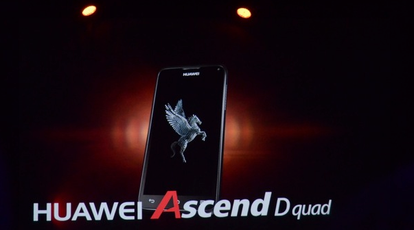 Huawei Ascend D XL quad core