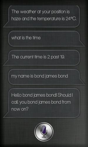 Mira clona a Siri