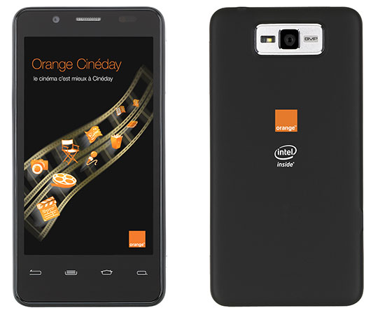 Orange Santa Clara smartphone cu procesor Intel Medfield