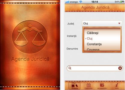 Agenda Juridica aplicatie App Store