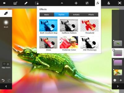 PhotoShop Touch aplicatie pentru iPad