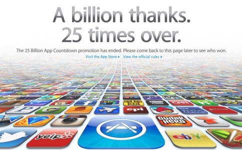 25 miliarde de descarcari din App Store