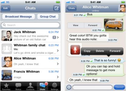 WhatsAppMessenger iOS iPhone