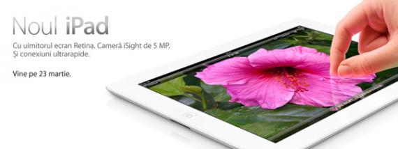 iPad Romania 23 martie