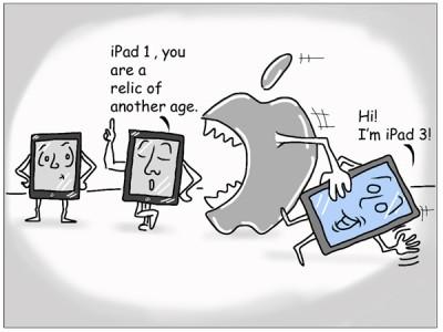iPad 3 eats iPad 2