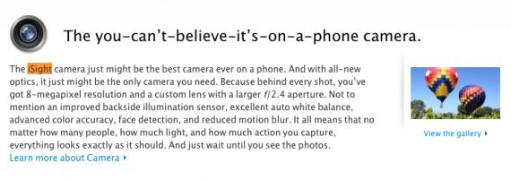 iSight iPhone Camera