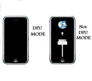 how to put ipad in dfu