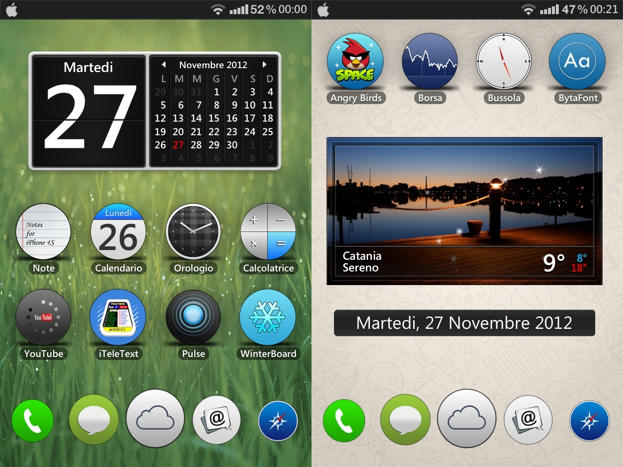 Best Themes Live Wallpapers For Iphone 5s 5c 4s 4 Ios 7: O Tema Interesanta Pentru IPhone Si IPod Touch