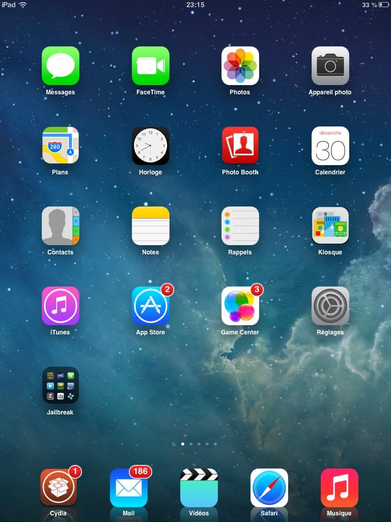 ios 7 gratuit ipad 2