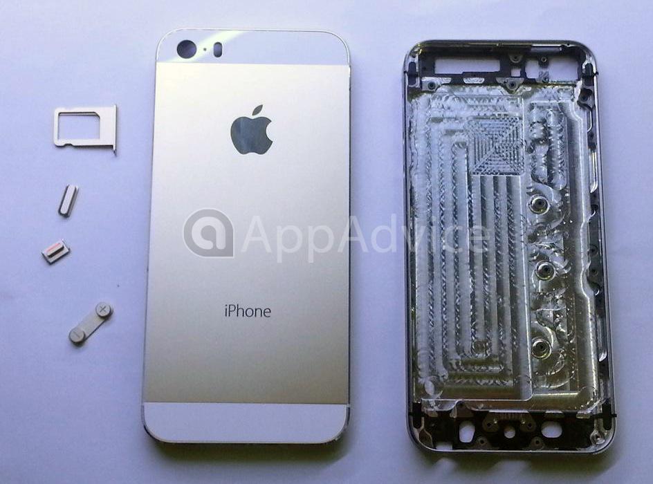 Iphone 5s auriu noi imagini cu carcasa versiunii albe for Interieur iphone