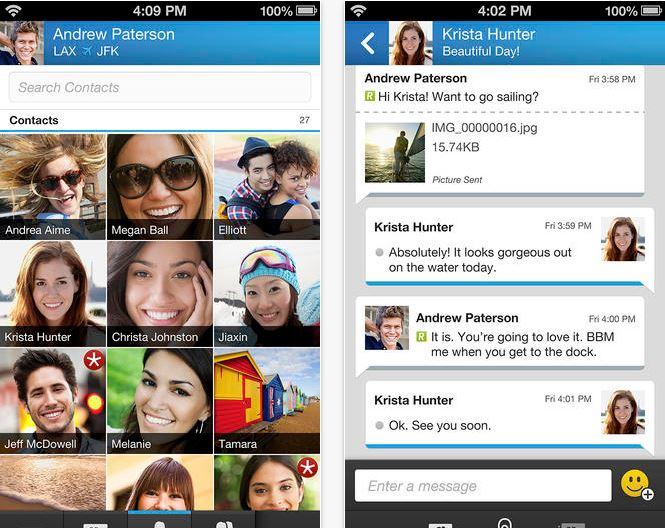 BBM Update aduce compatibilitate cu iPad si iPod Touch