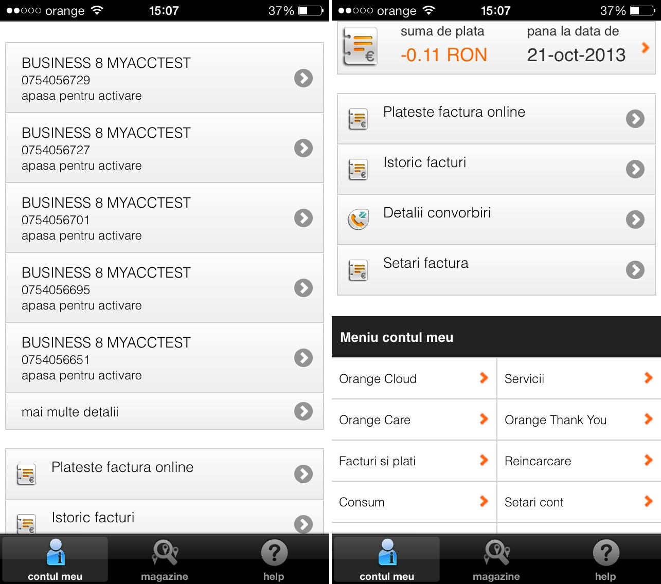 Cum folosesc orange phone credit la cumpararea online