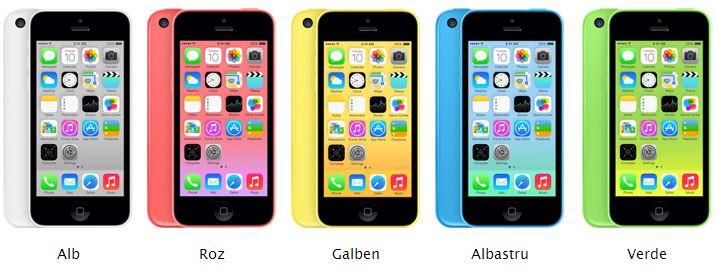 iPhone 5C romania