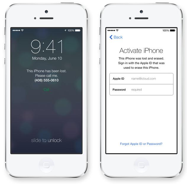 iOS 7 Activation Lock - iDevice.ro