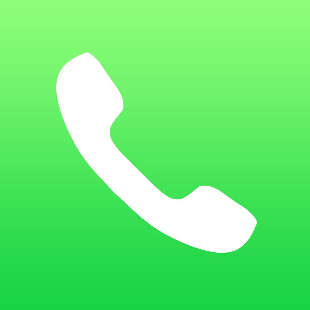 iOS 7 Phone App icon - iDevice.ro