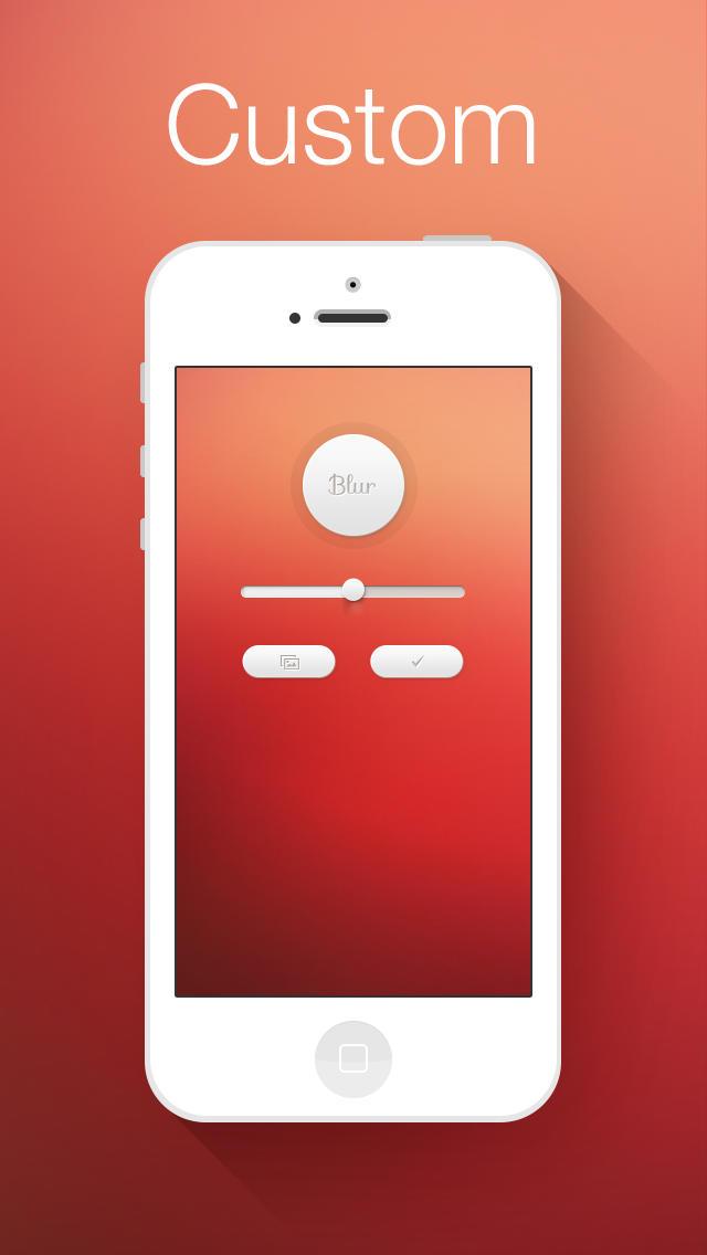 Calendar App Wallpaper Iphone : Blur te ajuta sa ti personalizezi wallpaper urile in ios