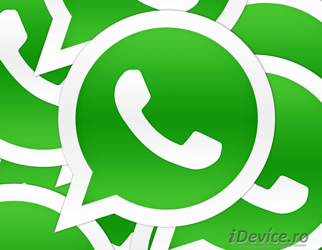 WhatsApp Messenger  - iDevice.ro