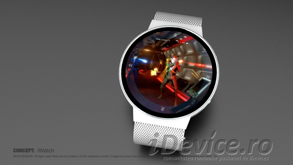iHealth iWatch concept - iDevice.ro