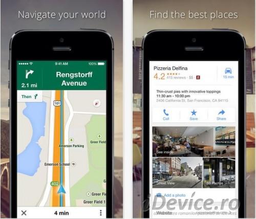 Google Maps 3.0 - iDevice.ro