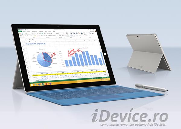 Microsoft Surface Pro 3 - iDevice.ro