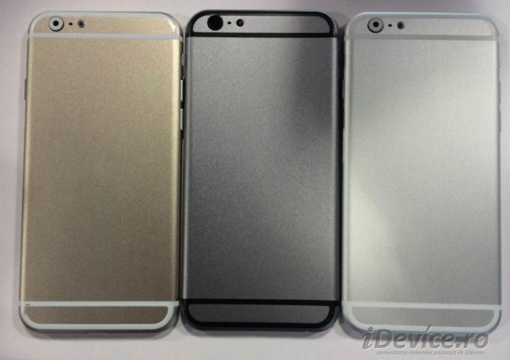 iPhone 6 auriu iPhone 6 argintiu si iPhone 5S - iDevice.ro