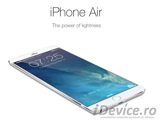 iPhone Air - iDevice.ro 1