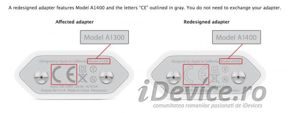 Apple incarcator inlocuire - iDevice.ro