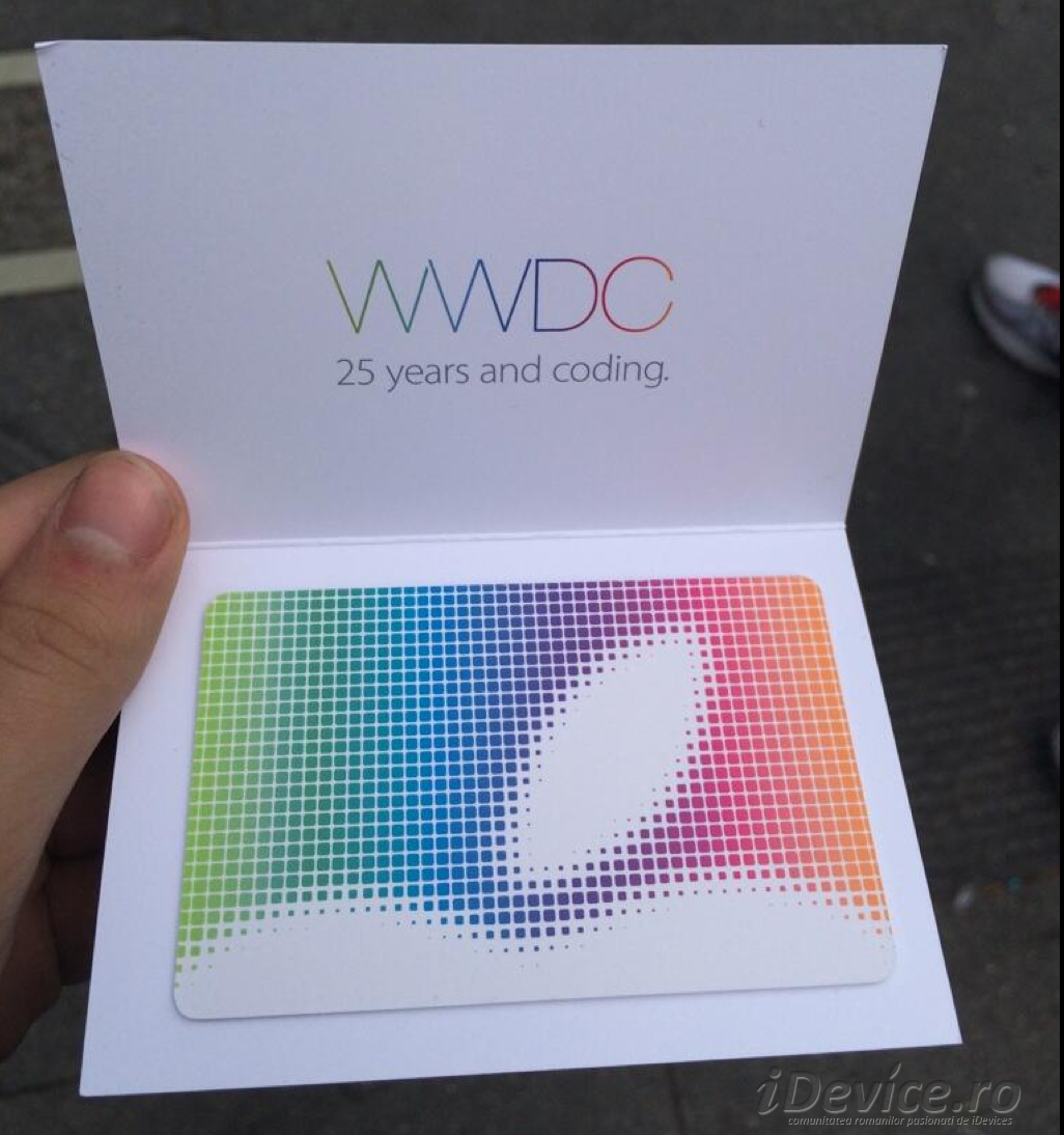 WWDC Gift Card - iDevice.ro