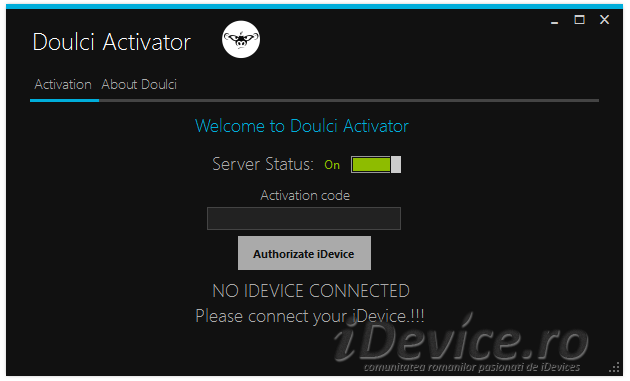 doulCi Software Activator - iDevice.ro