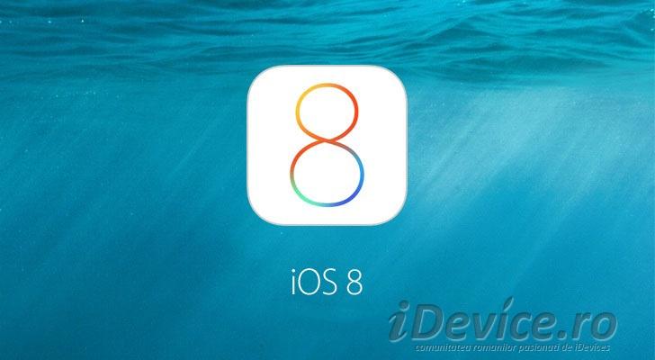 iOS 8 - iDevice.ro