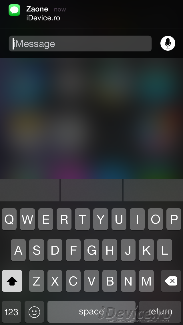 iOS 8 notificari interactive - iDevice.ro