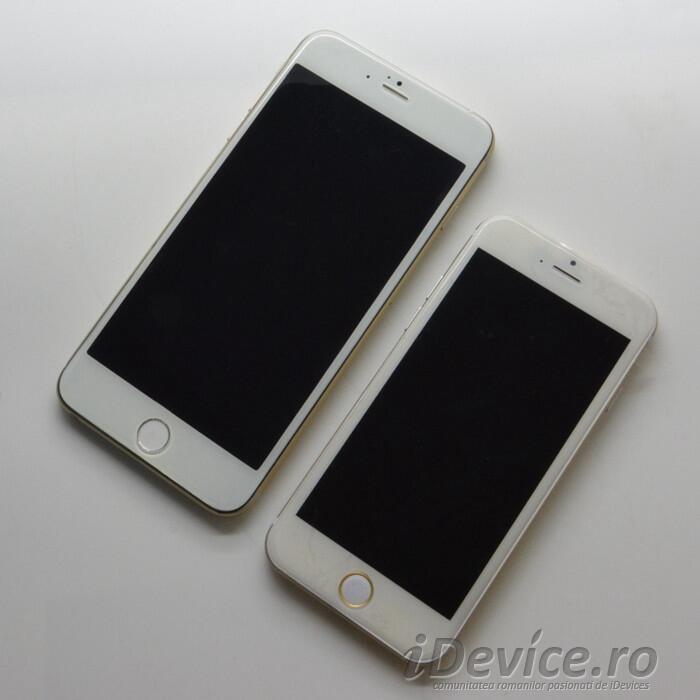 iPhone 6 cu ecran de 5.5 inch si iPhone 6 cu ecran de 4.7 inch - iDevice.ro 1