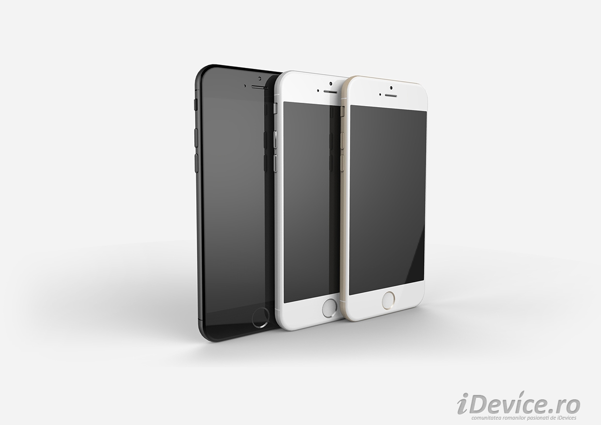 iPhone 6 auriu gri argintiu - iDevice.ro 2