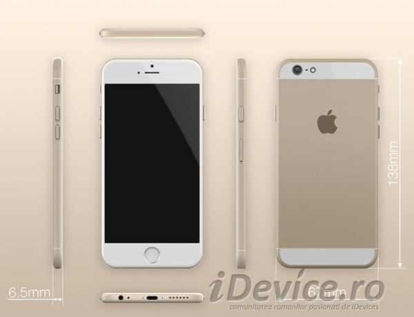 iPhone 6 concept iulie - iDevice.ro 8