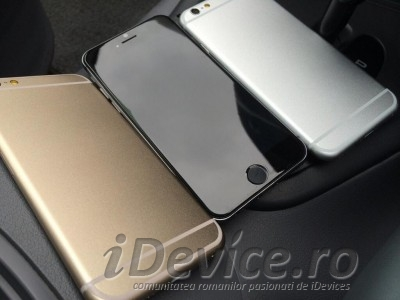 iPhone 6 cu ecran de 4.7 inch iPhone 6 cu ecran de 5.5 inch auriu gri argintiu - iDevice.ro