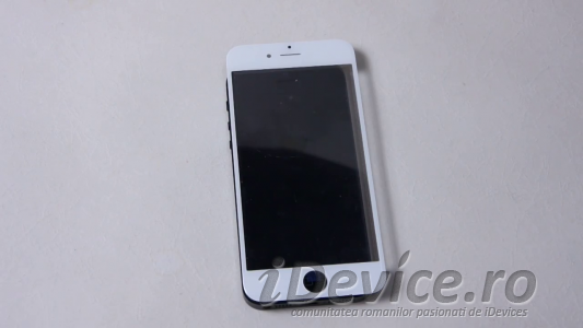 iPhone 6 panou frontal alb comparatie iPhone 5S - iDevice.ro 2