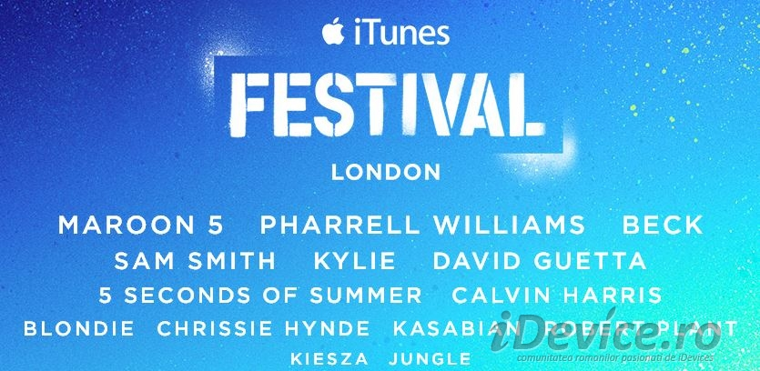 iTunes Festival 2014 - iDevice.ro