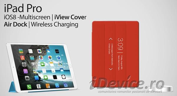 iPad Pro iOS 8 concept - iDevice.ro