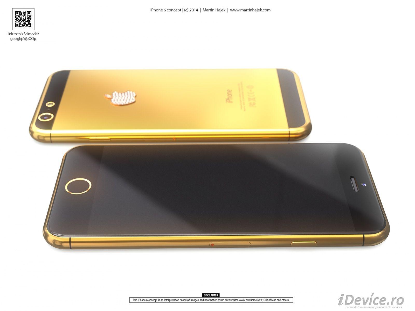 iPhone 6 auriu - iDevice.ro 2