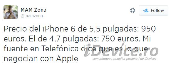 iPhone 6 pret - iDevice.ro