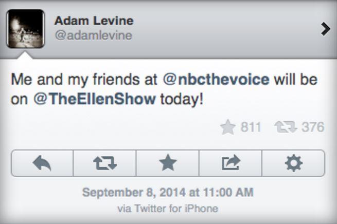 Adam Levine Samsung - iDevice.ro
