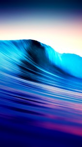 Surreal Surf Wave iOS7 iPhone 5 Wallpaper
